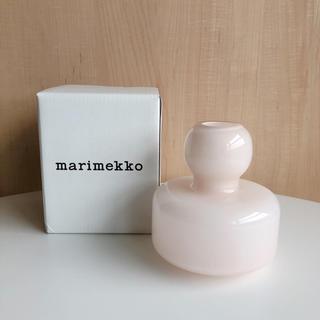 マリメッコ(marimekko)のマリメッコ Flower フラワーベース ピンク(花瓶)