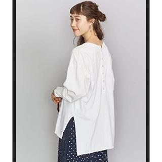 IENA - 新品★ IENA 【R JUBILEE】BACK BUTTON ロングTシャツ