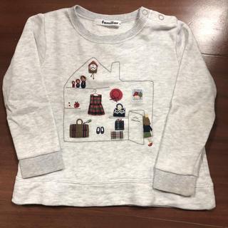 ファミリア(familiar)のファミリアロングTシャツ(Tシャツ/カットソー)