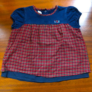 ファミリア(familiar)のファミリアTシャツ90(Tシャツ/カットソー)