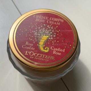 ロクシタン(L'OCCITANE)のL'OCCITANE  キャンディローズボディークリーム(ボディローション/ミルク)