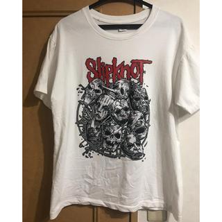 ザラ(ZARA)のスリップノット Tシャツ(Tシャツ/カットソー(半袖/袖なし))