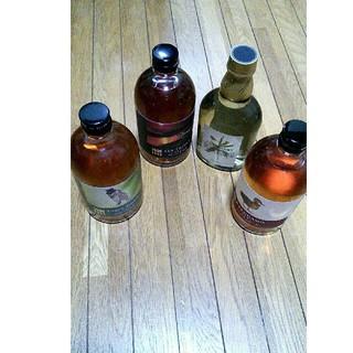 キリン - 国産ウイスキー 4本 セット グリーンフォレスト カルガモ シーフロント ライス