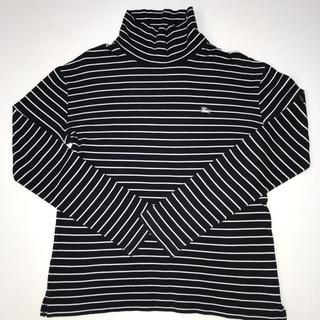バーバリーブラックレーベル(BURBERRY BLACK LABEL)のバーバリー ブラックレーベル タートルネック ロンT サイズ3(Tシャツ/カットソー(七分/長袖))
