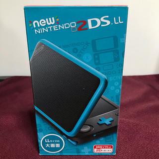 ニンテンドー2DS(ニンテンドー2DS)のNintendo ゲーム機本体 NEW ニンテンドー 2DS LL ブラック/タ(携帯用ゲーム機本体)