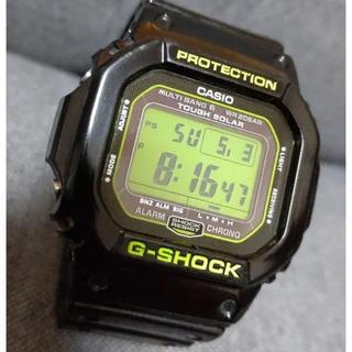ジーショック(G-SHOCK)のカシオG-SHOCK GW-M5610B 電波タフソーラー グリーン 美品(腕時計(デジタル))
