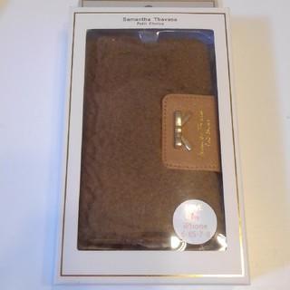 サマンサタバサプチチョイス(Samantha Thavasa Petit Choice)のサマンサタバサ プチチョイス ボア アイフォンケース(iPhoneケース)