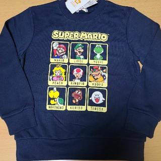 バンダイ(BANDAI)のスーパーマリオ トレーナー140(Tシャツ/カットソー)