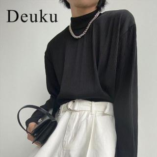 ハレ(HARE)のDeuku プリーツモックネック ロンT 韓国(Tシャツ/カットソー(七分/長袖))