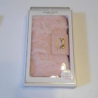 サマンサタバサプチチョイス(Samantha Thavasa Petit Choice)のサマンサタバサプチチョイス ピンク アイフォンケース(iPhoneケース)