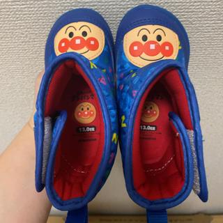 アンパンマン(アンパンマン)のムーンスター アンパンマン レイン ブーツ 13cm (ブーツ)