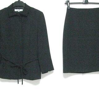 ニジュウサンク(23区)のニジュウサンク スカートスーツ 38 M 黒(スーツ)