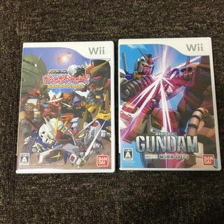 Wii - SDガンダム ガシャポンウォーズ*機動戦士ガンダム MS戦線 0079