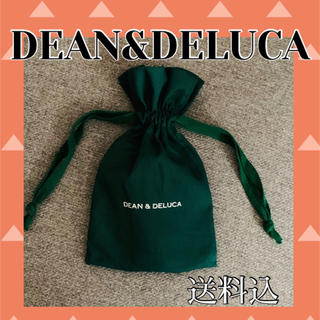 DEAN & DELUCA - DEAN&DELUCA 巾着袋 グリーン 深緑 緑色