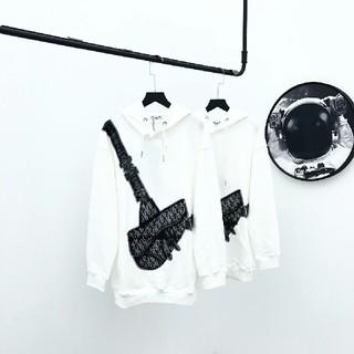 クリスチャンディオール(Christian Dior)の鞍包みのカップルのフードコート(Tシャツ(長袖/七分))