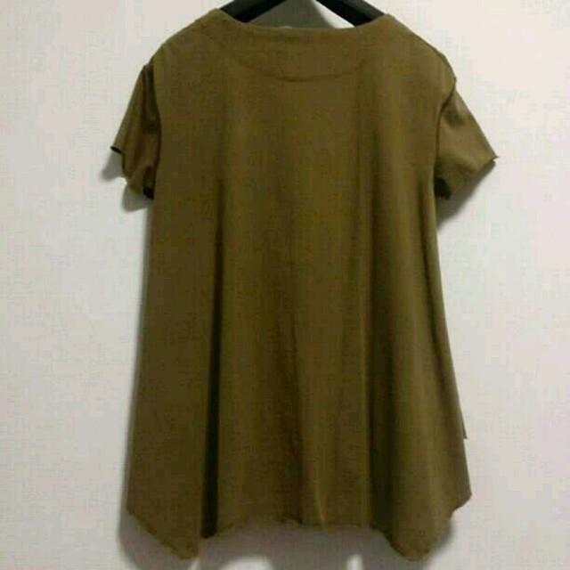 Drawer(ドゥロワー)のDrawer AラインTシャツ レディースのトップス(Tシャツ(半袖/袖なし))の商品写真