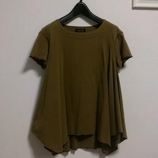 ドゥロワー(Drawer)のDrawer AラインTシャツ(Tシャツ(半袖/袖なし))