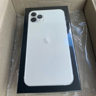 iPhone - 未開封!SIMフリーiPhone 11 Pro MAX silver 256GB