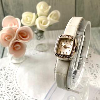 アガット(agete)の【電池交換済み】agete アガット 腕時計 スクエア カメレオン ウォッチ(腕時計)