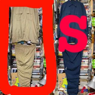BEAMS - AH H SSZ ワークシャツ ペインターパンツ セットアップ ベージュ S
