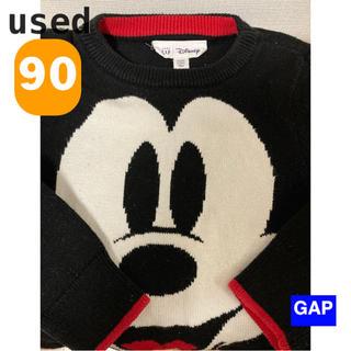 babyGAP - GAP  ディズニー ミッキー ニット トップス 長袖 90