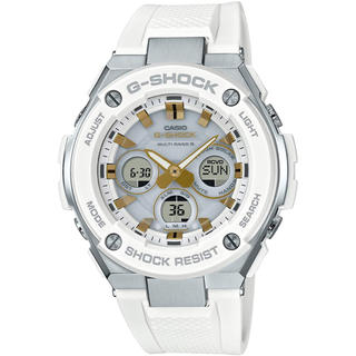 ジーショック(G-SHOCK)のカシオ G-SHOCK 大人カジュアル 電波ソーラー 腕時計 ホワイト(腕時計(アナログ))