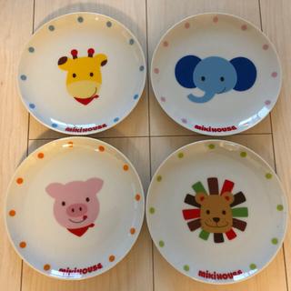 ミキハウス(mikihouse)のミキハウスお皿   4枚   (食器)