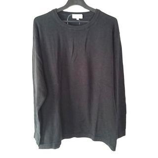 クリスチャンディオール(Christian Dior)のクリスチャンディオール 長袖セーター L 黒(ニット/セーター)