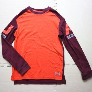 アンダーアーマー(UNDER ARMOUR)のアンダーアーマー140cm長袖Tシャツ/ヒートギア スポーツ(Tシャツ/カットソー)