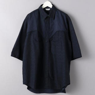 1LDK SELECT - WELLDER WESTERN shirt
