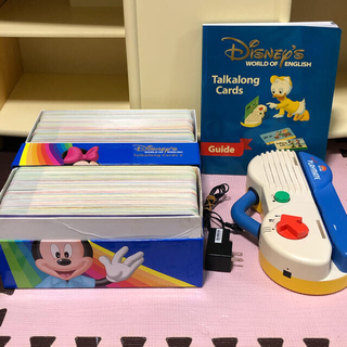Disney - ディズニー英語システム DWE トークアロング  本体&カード 両面デジタル