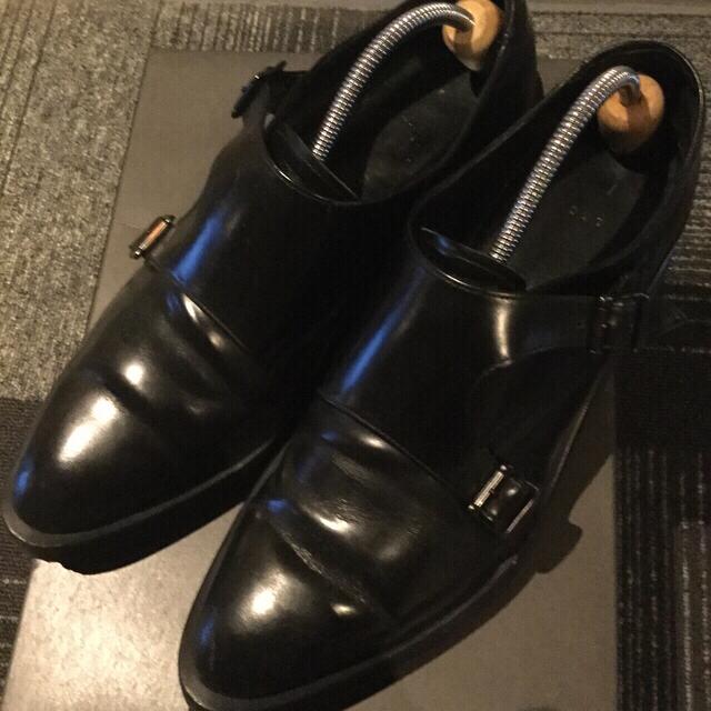 LAD MUSICIAN(ラッドミュージシャン)のLAD MUSICIAN モンクシューズ メンズの靴/シューズ(ドレス/ビジネス)の商品写真