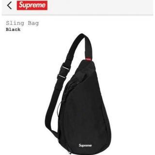 Supreme - Supreme Sling Bag Black シュプリーム スリングバッグ 黒