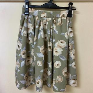 パターンフィオナ(PATTERN fiona)のパターン♡花柄スカート(ひざ丈スカート)