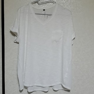 しまむら - 前後に透け感ありのTシャツ