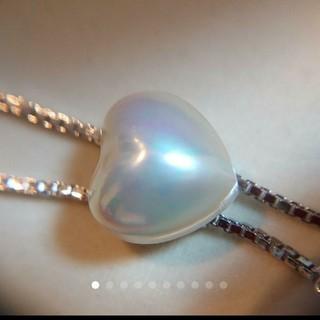 タサキ(TASAKI)の【極上美品】Tasaki真珠※太陽の光マベ真珠パールスライド式ネックレス(ネックレス)