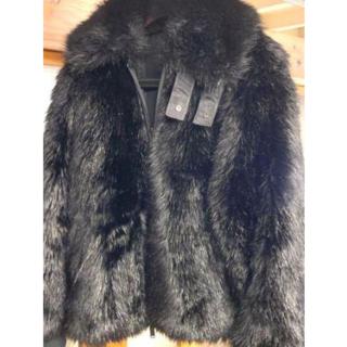 NIKE - NIKE × AMBUSH reversible faux fur coat 黒