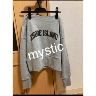 ミスティック(mystic)のmystic♡ロゴスエット 美品(トレーナー/スウェット)