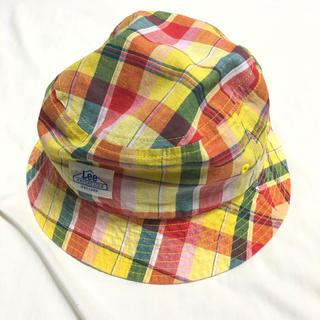 リー(Lee)のLee Check Pattern Backet Hat(ハット)