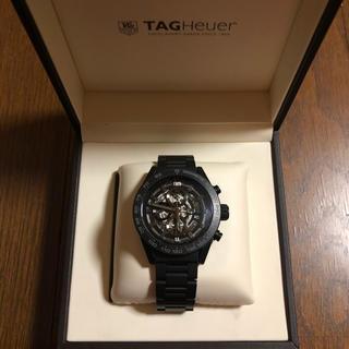 TAG Heuer - タグホイヤー カレラ ホイヤー01 オールブラックセラミック 45mm