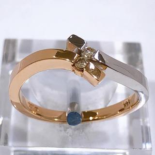 K14WG /PG ダイヤモンド リング(リング(指輪))