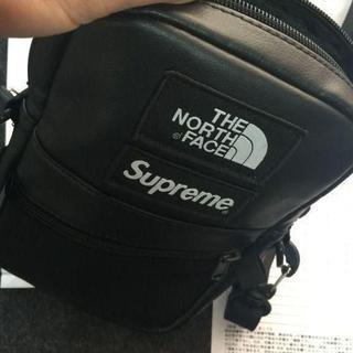 Supreme - Supreme TNF Leather Shoulder Bag