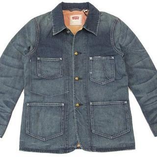 Levi's - 新品 Levi's デニムジャケット USED加工 M~L 71292-0001