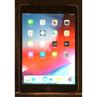 Apple - 美品 iPad mini 3 black 64GB ソフトバンク セルラー