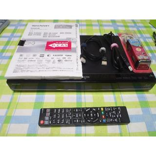SHARP - 動作保証  シャープ AQUOS ブルーレイレコーダー BD-S550