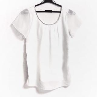 ジャスグリッティー(JUSGLITTY)のジャスグリッティー 半袖カットソー 2 M 白(カットソー(半袖/袖なし))