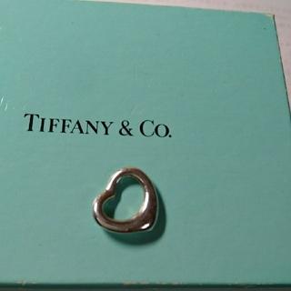 ティファニー(Tiffany & Co.)のティファニーオーブンハートネックレストップ(チャーム)