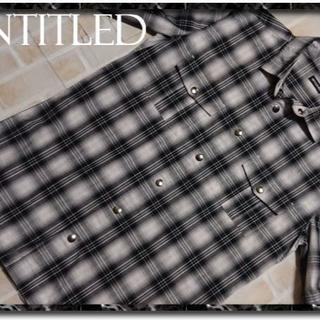 アンタイトル(UNTITLED)のアンタイトルメン チェック半袖シャツ(シャツ)