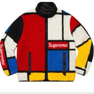 シュプリーム(Supreme)のL Reversible Colorblocked Fleece Jacket (ブルゾン)