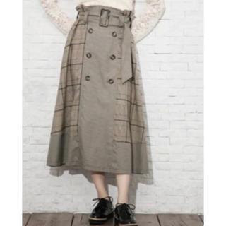 GRL - チェックトレンチスカート